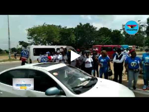 Election Desk: NPP supporters 'take over' EC headquarters as Akufo-Addo files nomination
