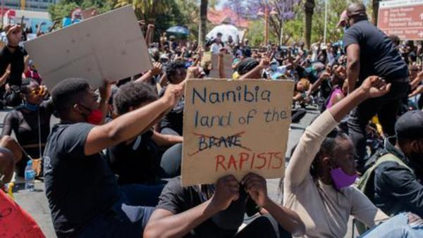 Dozens arrested in Namibia's anti-femicide protests