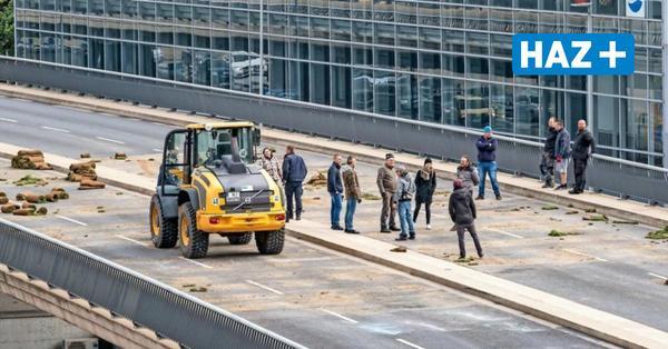 Hannover: Raschplatzbrücke für Filmaufnahmen gesperrt