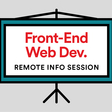 Front-End Web Development Info Session Remote Livestream | Minneapolis | General Assembly