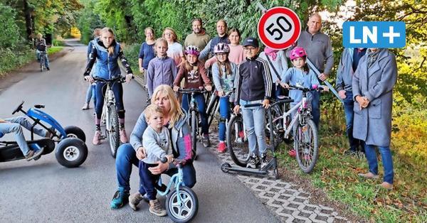 Ortsschild einen Kilometer versetzt: Grabauer Familien sind sauer