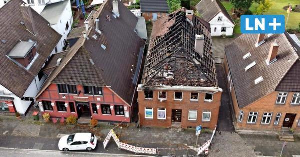 Brandruine in der Hamburger Straße wird vermutlich abgerissen