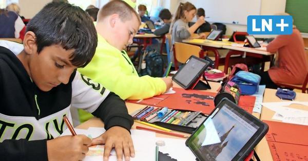 Bei der Digitalisierung ist die Stecknitz-Schule Berkenthin weit vorne