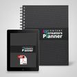 Printed & Digital Content Marketing Planner Bundle   Content Creators Planner