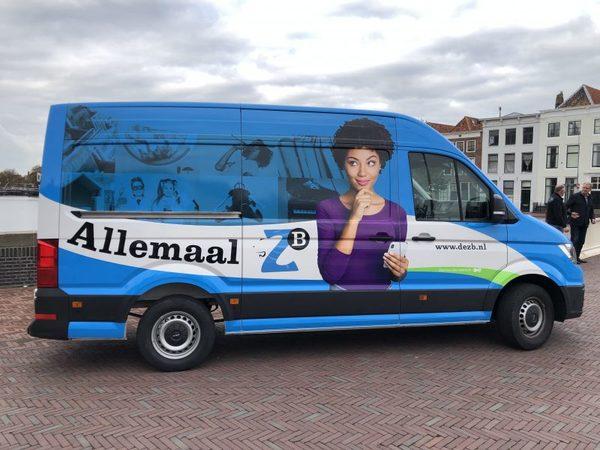 ZB Middelburg onthult eerste elektrische bus in Zeeland – Wij zijn De Stad Middelburg