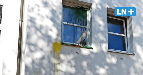 Erneute Farbwürfe gegen Polizeirevier
