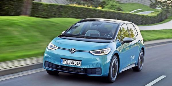 """""""German Car of the Year""""-Award:ID.3 und Golf fahren Siege ein"""