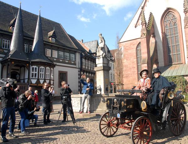Einbeck hat eine reizvolle Altstadt. (Foto: Heidi Niemann)
