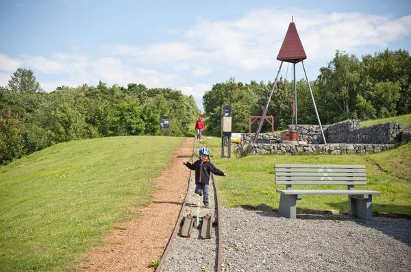 Der Zechenpark in Barsinghausen erinnert an die Bergbautradition der Deisterstadt. (Foto: Insa Hagemann)