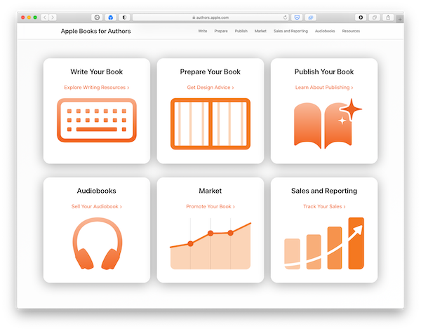 Het nieuw auteursplatform van Apple: 'Apple Books for Authors'