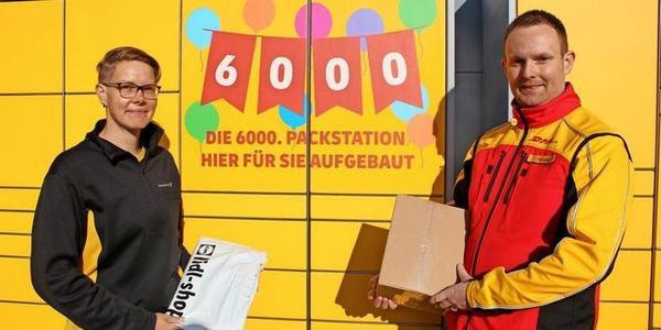 6000. DHL-Packstation steht jetzt in Rostock: Darum wird der Service immer beliebter