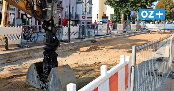 Kühlungsborn: So geht es auf der Baustelle Strandstraße weiter