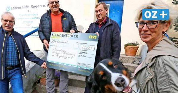 EWE unterstützt Lebenshilfe Rügen, Stralsund und Umgebung