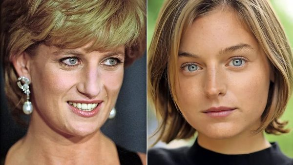 """""""Sie wäre stolz auf Prinz Harry"""": Emma Corrin spielt Lady Diana in """"The Crown"""""""