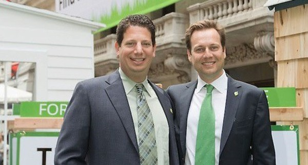 Trulia COO and CEO making magic (from Paul's blog post)