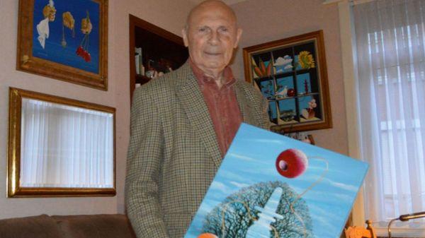 Le peintre lessinois Paul Rouge est décédé - Paul Rouge is overleden
