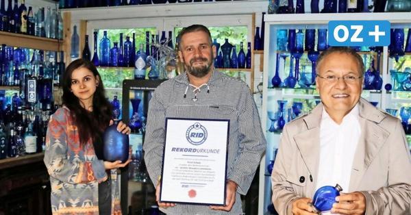 Glasklare Sache: Dieser Doberaner trägt jetzt einen besonderen Weltmeister-Titel