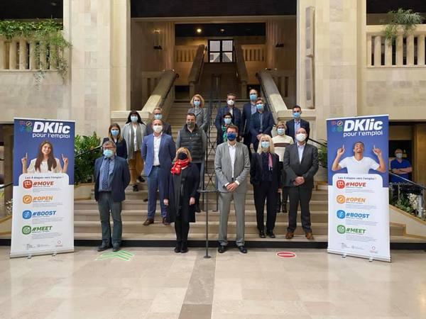 """Avec """"DKlic pour l'emploi"""", Entreprendre Ensemble veut donner un nouveau souffle aux méthodes de recrutement - DKlic wil werkgevers en werkzoekenden beter matchen"""