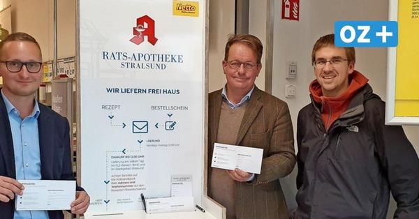 Einmalig: Rollende Apotheke aus Stralsund versorgt Dorfbewohner im Umland