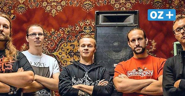 Wismarer Metal-Band holt dritten Platz beim Platt-Wettbewerb