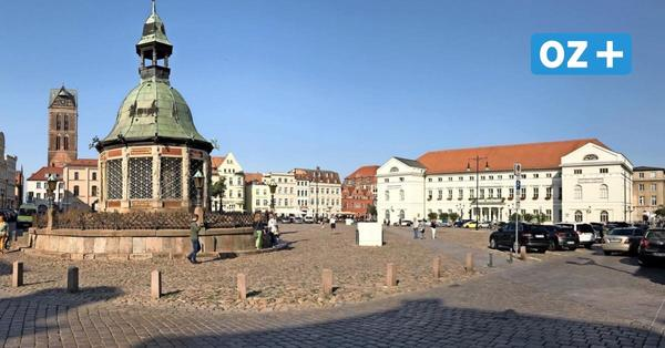 Mehr Bänke und Trinkwasser: So könnte sich Wismars Marktplatz verändern