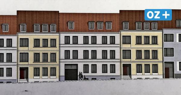 Modernes Wohnen: In Wismarer Altstadt entsteht ein Wohnhaus mit Pkw-Lift