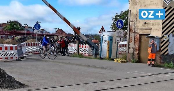 Poeler Straße: Vorsicht auf Weg durch Wismars größte Baustelle