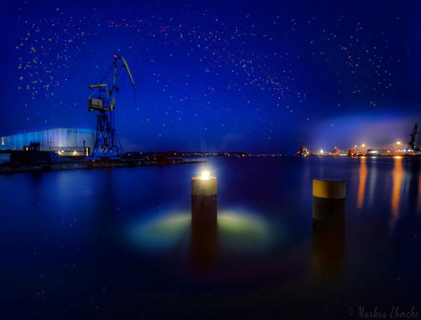 Abendstimmung in der Wismarbucht (Foto: Markus Ehmcke)