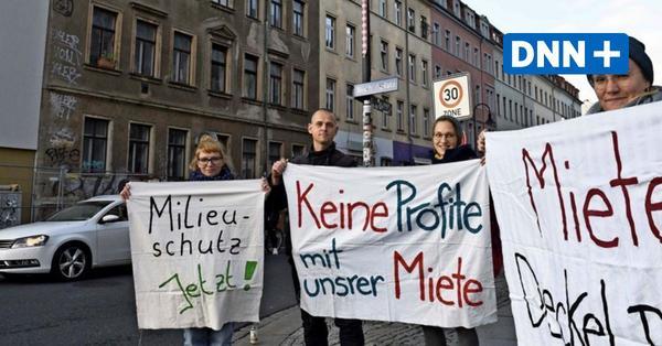 Hohe Mieten im Hechtviertel Dresden: Einwohner setzen sich zur Wehr