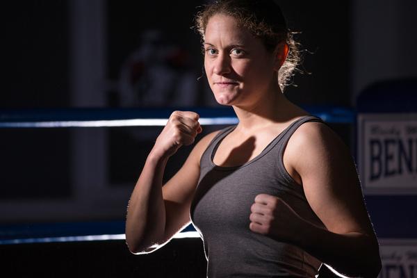 Boxerin Annemarie Stark