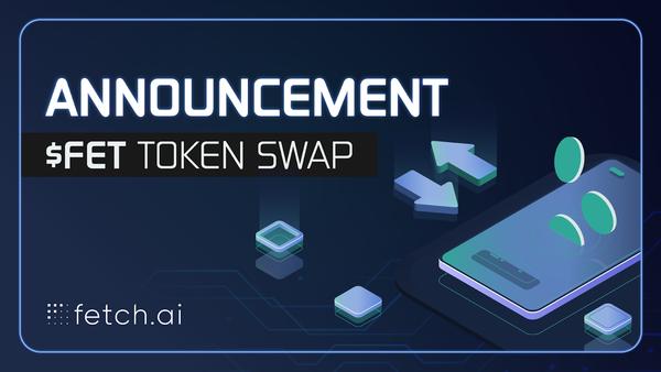 $FET token swap on Wednesday 14th October