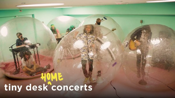 The Flaming Lips: Tiny Desk (Home) Concert