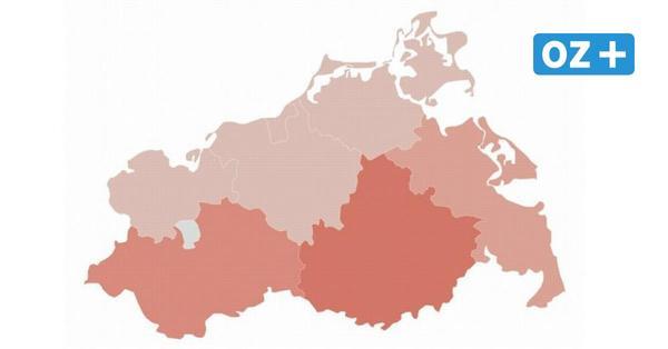 Corona in MV: So hoch ist der Inzidenzwert in den Städten und Landkreisen