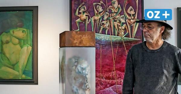 Jan Witte-Kropius stellt in Wismar aus: Malerei, Grafik, Skulptur und Kunst am Bau