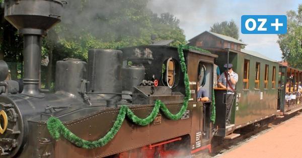 Eisenbahn-Erlebnis: Mit der Dampflock durch die Klützer Landschaft