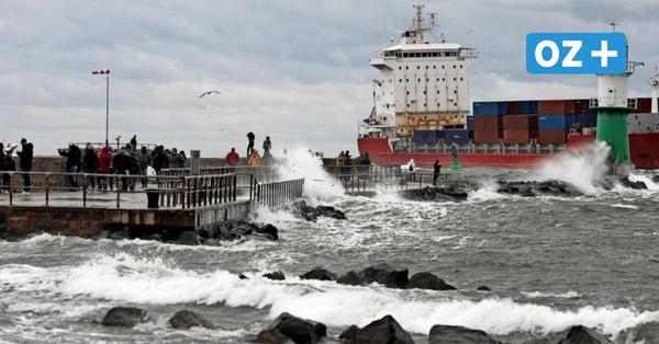 """Liveticker zum Nachlesen: So fegte Sturmtief """"Gisela"""" über die Ostseeküste von MV"""