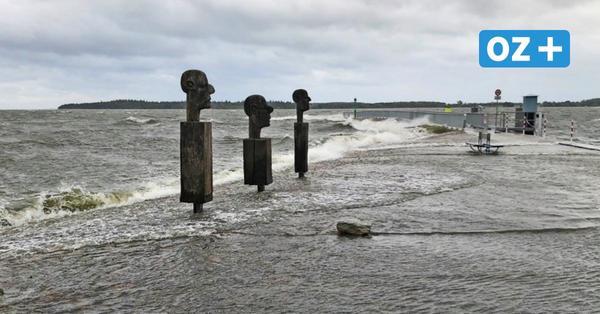 Greifswalder Sperrwerk schützt die Stadt erfolgreich vor der Sturmflut