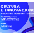 Cultura e Innovazione, Giffoni Innovation Hub (October 22nd, 2020 @11.30AM)