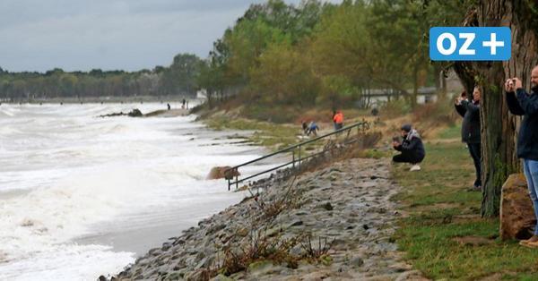 Sturmflut an der Küste: So sieht es in Boltenhagen aus
