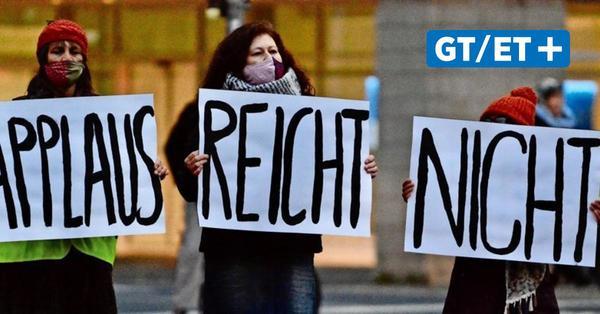 """Angestellte im öffentlichen Dienst streiken in Göttingen: """"Wir sind flexibel, die Arbeitgeber nicht"""""""