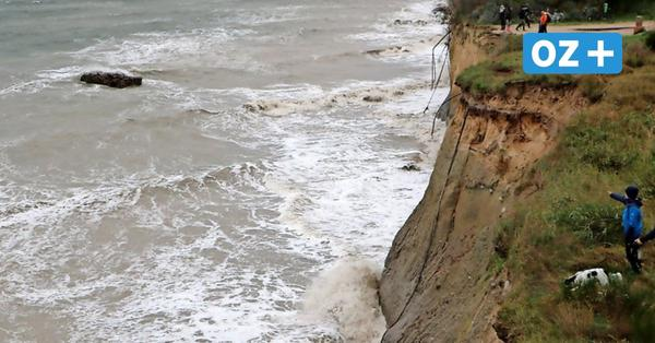 Sturmflut: Region Ribnitz-Damgarten kommt glimpflich davon