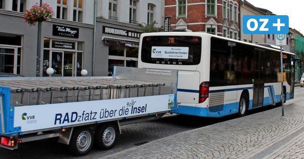 Fischland-Darß-Zingst und Küstenvorland testen kostenfreie Mitfahrt in Bussen