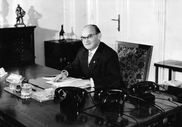 Willy Rescher war von 1957 bis 1961 Oberbürgermeister von Potsdam. Foto: Herbert Dörries/Stadtarchiv