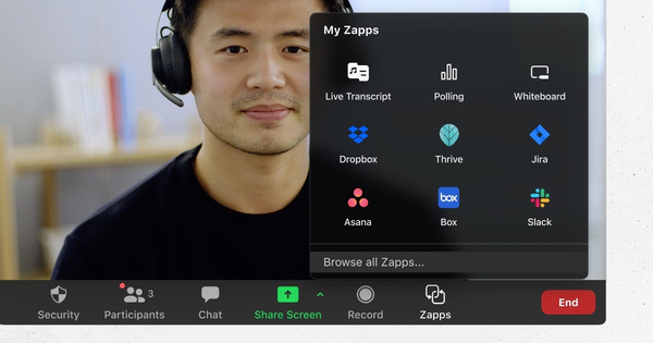 Zoom launches Zapps to bring third-party apps into video calls