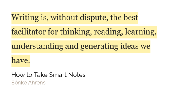 As David Perell very aptly writes - writing is like weightlifting for your brain. Jeff Bezos, the CEO of Amazon also states 'People who write a lot, also listen a lot. They also change their mind a lot. Not necessarily with new data, but sometimes re-analyzing the same data. They also work hard to disconfirm fundamental biases.'