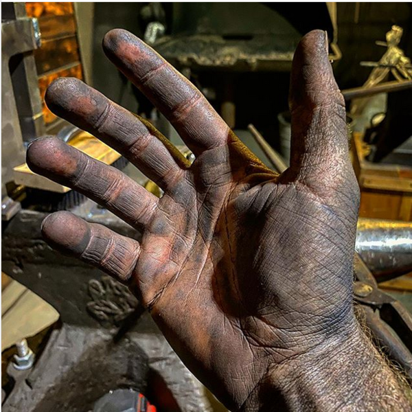 """""""Take a look at these hands."""""""