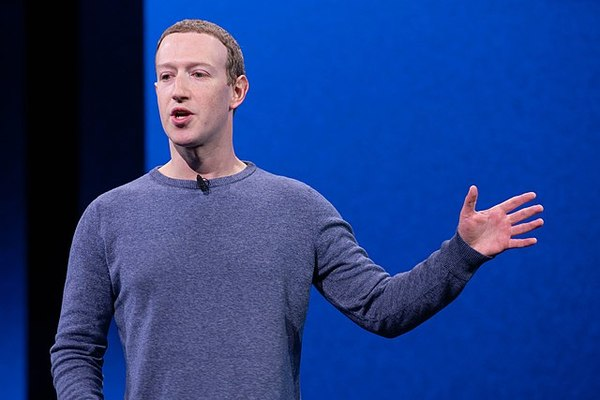 Mark Zuckerberg (foto Anthony Quintano, Wikimedia Commons, CC BY 2.0)