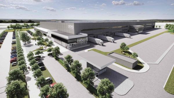 CEBEO installera son nouveau centre logistique à Tournai - CEBEO zal nieuw logistiek centrum bouwen in Doornik