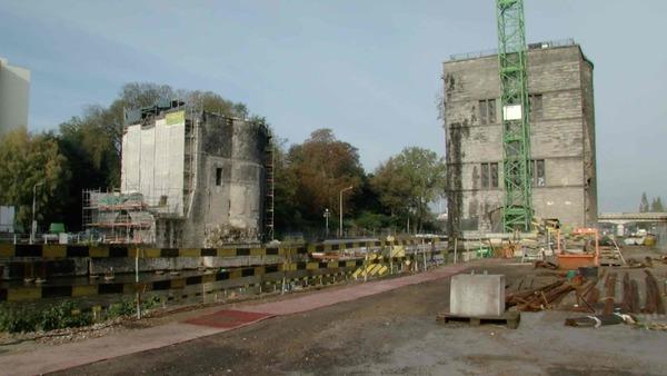 Le point sur le chantier de modernisation de l'Escaut et du pont des Trous - Werken aan de Schelde in Doornik vorderen