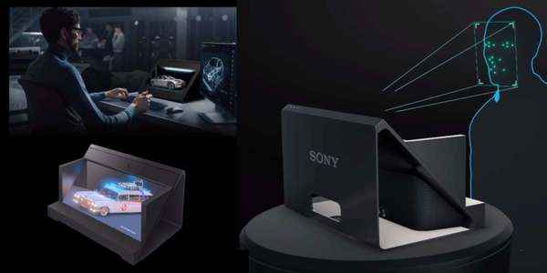 Sony reveals Spatial Reality Display, a 4K screen with glasses-free 3D
